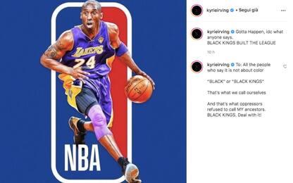La proposta di Irving: Kobe sul logo della NBA