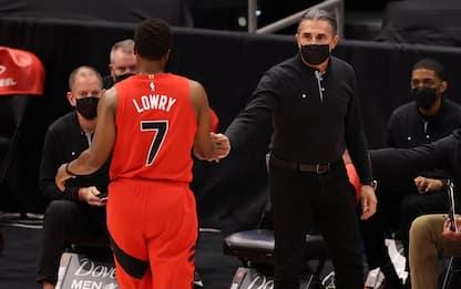 Scariolo, prima partita da capo allenatore in NBA