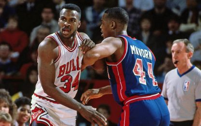 "Mahorn: ""Jordan? Lo prendemmo a calci nel..."""