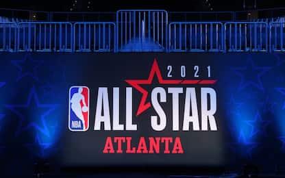 Questa notte l'All-Star Game su Sky: il programma