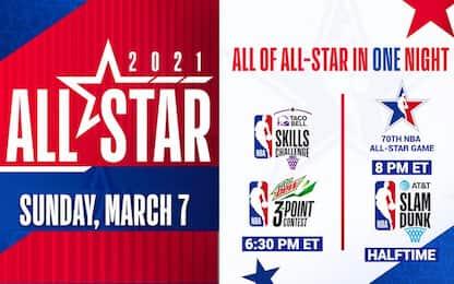 All-Star Game NBA: programma, calendario e orari