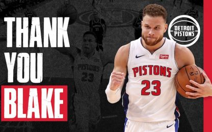Blake Griffin si libera da Detroit: Nets in pole