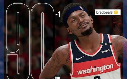Rating NBA 2K: crescono (quasi) tutti tranne Beal