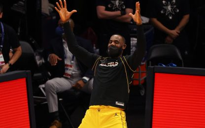 L'All-Star Game molto particolare di LeBron James