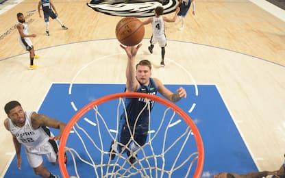 Doncic domina gli Spurs, Memphis supera Washington