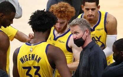 Wiseman si dimentica dei tamponi, Kerr lo punisce