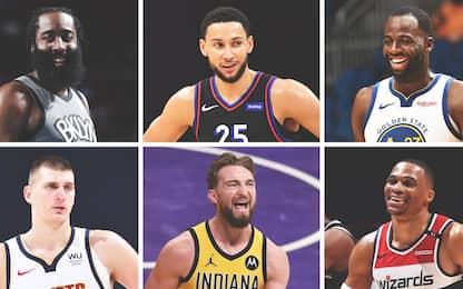 Sei triple doppie in una notte: nuovo record NBA