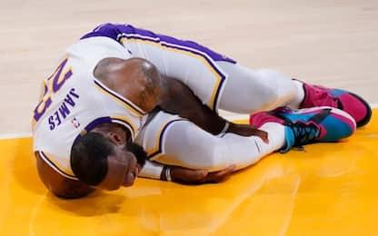 NBA, quanti infortuni: le squadre più penalizzate