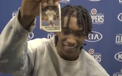 Mann e la figurina di Rondo nel portafoglio. VIDEO