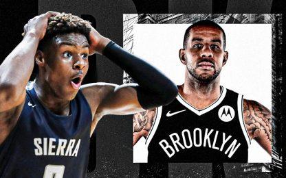 Aldridge va ai Nets: la reazione di Bronny James
