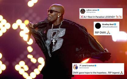 Addio al rapper DMX: le reazioni del mondo NBA