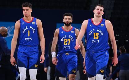 Denver, 8 vittorie in fila e 3 giocatori chiave