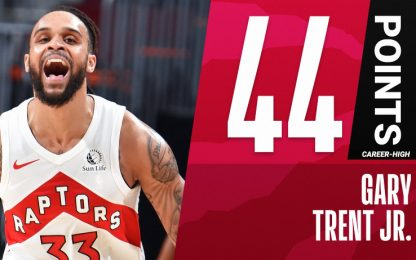 Trent Jr. da record: gara da 108% al tiro. VIDEO