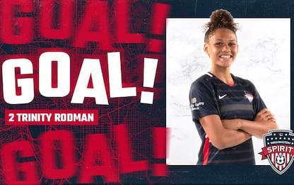 Gol al debutto per la figlia di Rodman in NWSL