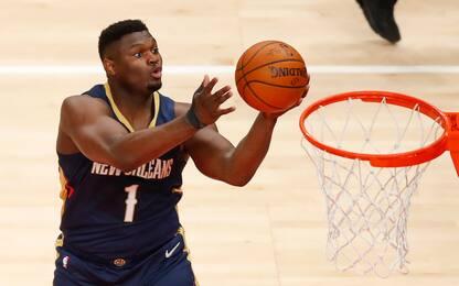 Infortunio al piede: Zion salta l'inizio stagione