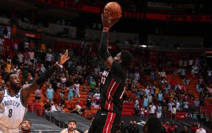 Buzzer beater di Adebayo: Miami vince così. VIDEO