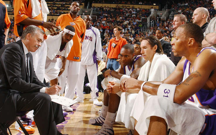 Shawn Marion in maglia Suns