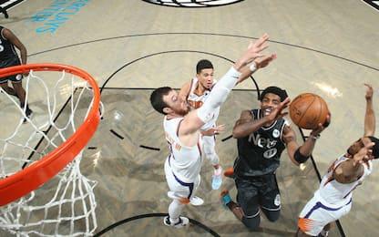 Irving e Durant troppo forti, Suns ko a Brooklyn