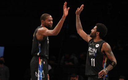 Irving&Durant onnipotenti: non resta che ridere