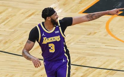 Lakers, ritorno al successo: stop Knicks e Wizards