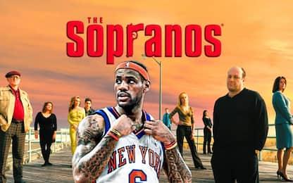 """Quando i """"Soprano"""" cercarono di reclutare LeBron"""