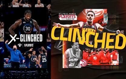 Tutti i verdetti playoff della regular season NBA