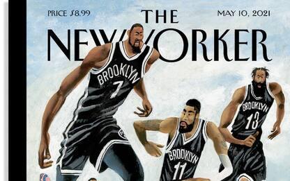 I sogni di Nets e Knicks in cover sul New Yorker