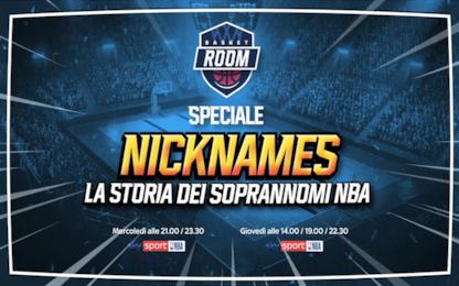 """Nicknames"": storia e storie dei soprannomi NBA"