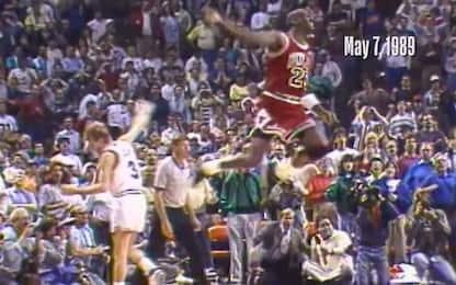 Il buzzer beater più famoso della carriera di MJ