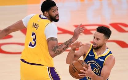 Davis vs. Curry al play-In? AD si sfoga alla Play