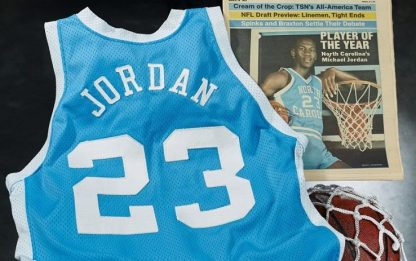 Jordan, maglia di North Carolina venduta a 1.4 mln