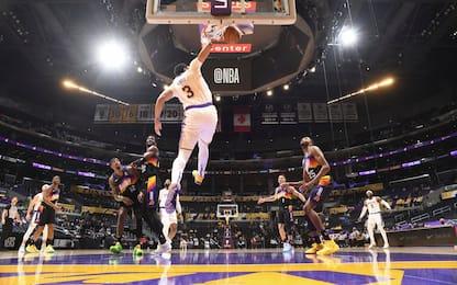 """Lakers aggrappati a AD: """"La bestia si è svegliata"""""""