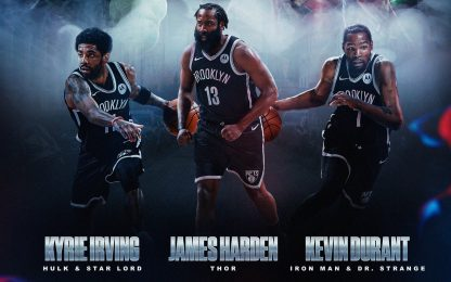 Nets, i Big Three come supereroi: l'idea di Harris