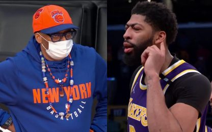"Vittoria Lakers, AD e LeBron ""trollano"" Spike Lee"