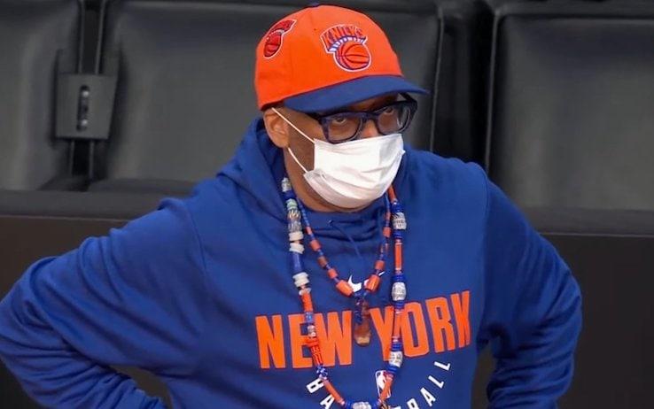 Spike Lee dopo la sconfitta dei Knicks