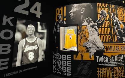 Kobe Bryant nella Hall of Fame: tutto pronto. FOTO