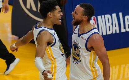Curry è clamoroso: 46 punti, Golden State è ottava