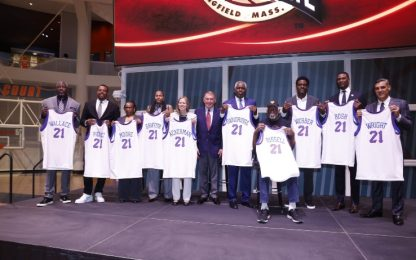 Hall of Fame 2021: entrano Pierce, Bosh e Webber