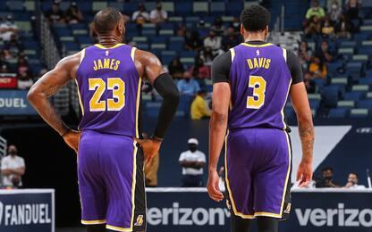 LBJ, Davis e altri: 5 ipotesi di quintetto Lakers