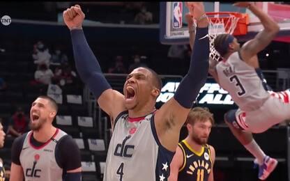 Wizards show contro Indiana: la giocata simbolo