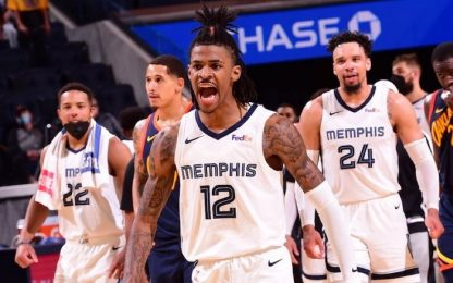 Morant batte Curry: Memphis vince e va ai playoff