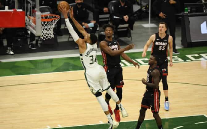 NBA PLAYOFF – Milwaukee travolge Miami, Denver pareggia la serie