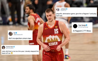 Jokic espulso, le reazioni incredule della NBA