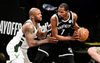 Giannis esalta la difesa di PJ Tucker su Durant