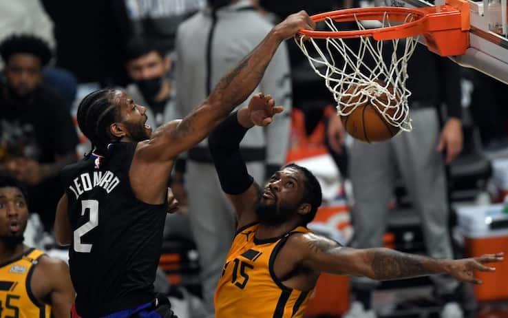 NBA PLAYOFF – I Clippers dominano gara-4 e pareggiano la serie contro i Jazz