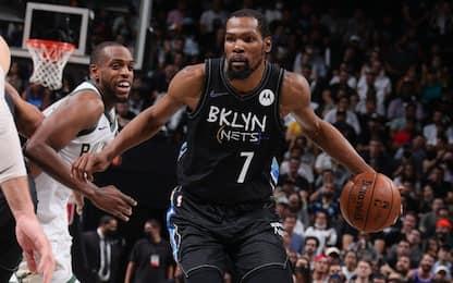Che show Durant: 49 punti e tripla doppia. VIDEO