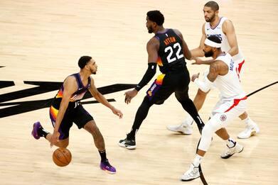 Playoff NBA, Suns-Clippers è su Sky: SEGUI IL LIVE