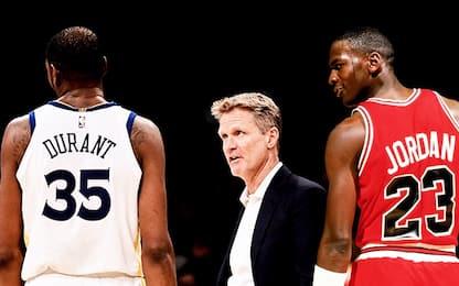"""Kerr: """"Durant ha più talento di Michael Jordan"""""""