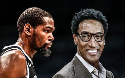 """Pippen: """"LeBron meglio di KD"""". E Durant risponde"""