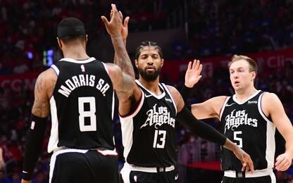 Suns ko dopo 9 successi: gara-3 è dei Clippers